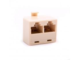 Plug Divisor RJ-45 2 saídas