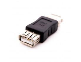 Emenda USB Fêmea para USB  Fêmea