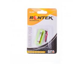 Bateria para telefone sem fio Rontek 2,4V AAA 600mAh