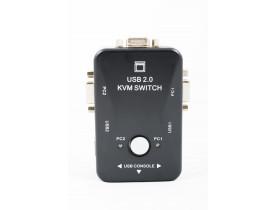Chaveador KVM  2 portas USB 2.0 e VGA