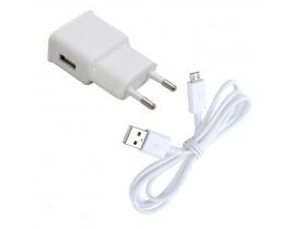 Carregador + cabo USB para celulares Android