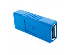 Emenda USB 3.0 USB-A Fêmea para USB-A Fêmea