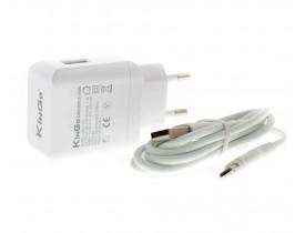 Carregador USB Turbo QuickCharge 3.0 KinGo micro USB