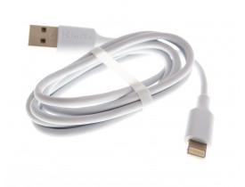 Cabo USB para Iphone KinGO 1m Branco