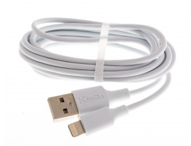 Cabo USB para Iphone KinGO 2m Branco