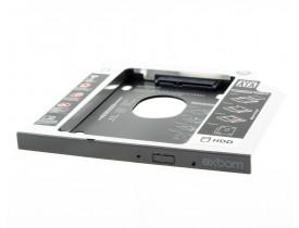 """Gaveta para HD de Notebook Caddy padrão 2.5"""" 9,5cm"""