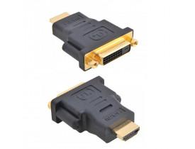 Plug Adaptador HDMI Macho para DVI-D fêmea