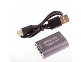 Placa de Captura HDMI USB 2.0 Portátil Exbom